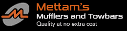 logo for Mettams Mufflers and Towbars